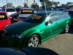 2010 Holden Commodore Green Sports Automatic Wagon Dandenong Greater Dandenong Preview