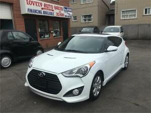 2013 Hyundai Veloster Turbo ,PANORAMIC SUNROOF