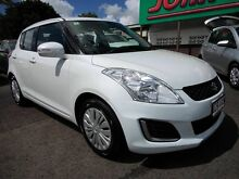 2014 Suzuki Swift FZ MY14 GL White 4 Speed Automatic Hatchback Mount Gravatt Brisbane South East Preview