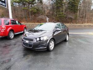 2014 CHEVROLET SONIC...LOADED!! ONLY 55,000 KMS! REMOTE STARTER!