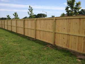 Fence Builder for Hire