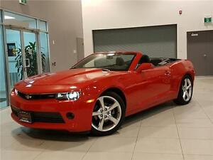 2015 Chevrolet Camaro CONVERTIBLE-2LT-LEATHER-ONLY 20KM