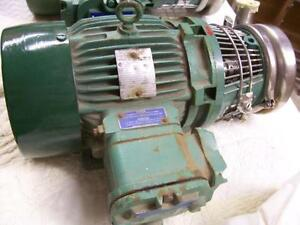 Moteur électrique anti-explosion (XP) 3HP avec pompe centrifuge Tri-clover