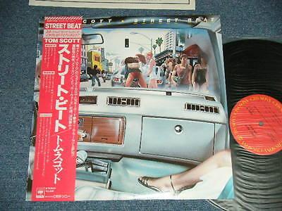 TOM SCOTT Japan 1979 NM LP+Obi STREET BEAT