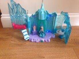 Frozen light up castle