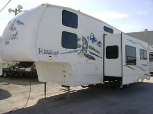 2007 FOREST RIVER WILDCAT 32QBBS
