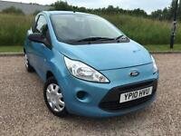 FORD KA 1.2 STUDIO 3 DOOR 2010 *LOW MILES, CLEAN CAR*