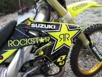 SUZUKI RMZ 450 FUEL INJECTION MOTO CROSS BIKE 2010