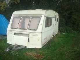 Fleetwood caravan for spare and repair