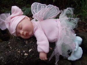 Anne Geddes sleeping baby fairy doll