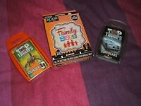 2 top trumps and quiz game