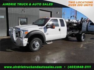2015 Ford Super Duty F-550 DRW XLT CAB & CHASSIS DIESEL