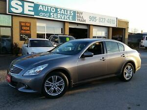 2011 Infiniti G37x Luxury Sedan 80K $16395 Certified