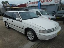 1992 Holden Commodore VP Executive White 4 Speed Automatic Wagon Holroyd Parramatta Area Preview