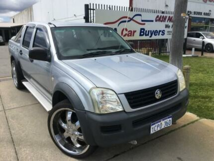 2006 Holden Rodeo RA LX Silver Automatic Dual Cab