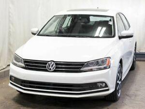 2015 Volkswagen Jetta 1.8 TSI Comfortline Sedan w/ Bluetooth, Su