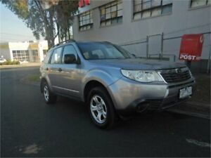 2010 Subaru Forester MY10 X Silver 4 Speed Auto Elec Sportshift Wagon Burwood Whitehorse Area Preview