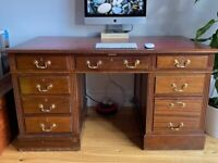 Nice ancient desk with lockable drawers
