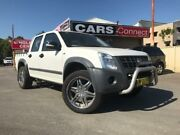 2008 Holden Rodeo RA MY08 LT White 4 Speed Automatic Crew Cab Pickup Edgeworth Lake Macquarie Area Preview