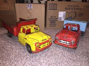 50s and 60s vintage toys  from fine to well used bundled