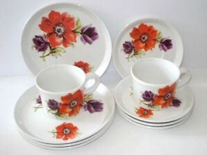 Vintage Barker Brothers Royal Tudor Tea set/Made in England