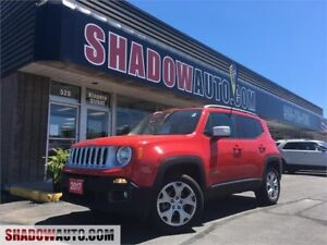 2017 Jeep Renegade Limited,factory warranty, 4x4,
