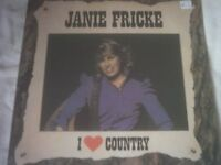 Vinyl LP I Love Country – Janie Fricke