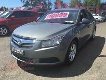 2010 Holden Cruze JG CD Grey 6 Speed Automatic Sedan Lansvale Liverpool Area Preview
