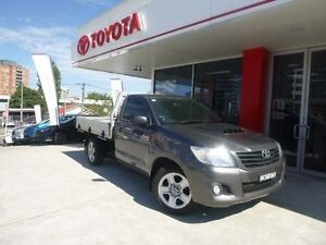 2013 Toyota Hilux KUN16R MY14 Workmate Grey 5 Speed Manual Cab Chassis Allawah Kogarah Area Preview