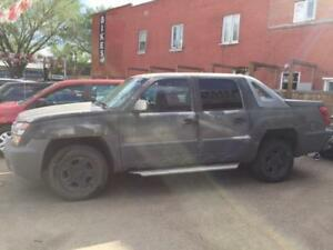 2002 Chevrolet Avalanche WEEKEND SPECIAL $$1500.00 $$ INSPECTED