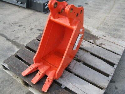 New Kubota U25 12 Mini Excavator Trenching Bucket K7788 With Teeth Backhoe Il