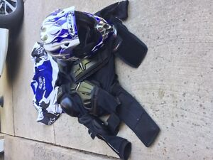 Helmet and Body Protector