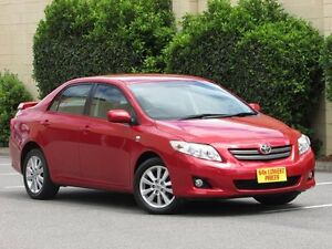2008 Toyota Corolla ZRE152R Conquest Maroon 4 Speed Automatic Sedan Blair Athol Port Adelaide Area Preview