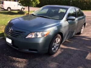 2007 Toyota Camry LE 1 owner only 132000km original super clean!