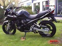 2006 Suzuki GSF650 SA in black