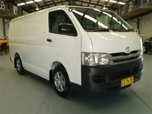 2008 Toyota HiAce TRH201R MY07 Upgrade LWB French Vanilla 4 Speed Automatic Van Seven Hills Blacktown Area Preview