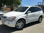 2006 Ssangyong Kyron D100 2.0 XDI White 5 Speed Sequential Auto Wagon St James Victoria Park Area Preview