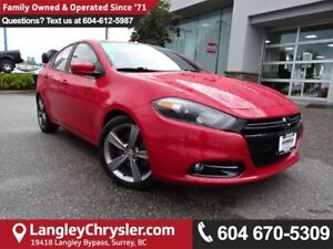 2014 Dodge Dart GT *ACCIDENT FREE * LOCAL BC CAR *