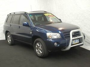 2003 Toyota Kluger MCU28R CVX (4x4) Blue 5 Speed Automatic Wagon Derwent Park Glenorchy Area Preview
