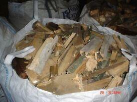 Firewood - Cut Demolition Timber, Kindling Firelighters Mixture, Stoves, Not Logs