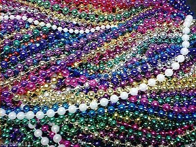 200 Mardi Gras Beads Bulk Lot Necklaces Free Shipping Party Favors - Mardi Gras Party Favors