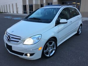 2008 MERCEDES BENZ B200 TURBO/PANORAMIC/AMG/LEATHER PKG/BLUTOOTH