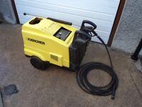Karcher steam cleaner, karcher hot pressure washer £395