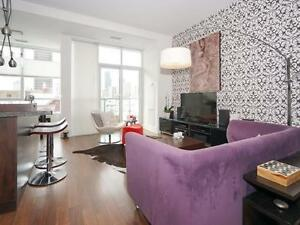 Stylish 2 bedroom condo loft in the heart of downtown TO!
