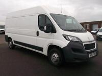 Peugeot Boxer 2.2 HDI L3 H2 130PS VAN DIESEL MANUAL WHITE (2015)