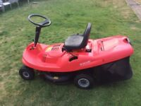 Mountfield sit on lawn mower EF 63C/5.6M Good Condition.