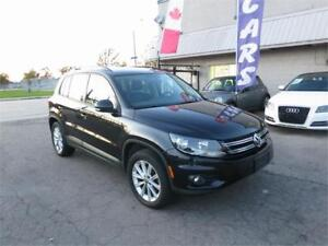 2013 Volkswagen Tiguan Highline 4Motion - Nav|Cam|B/tooth - Mint