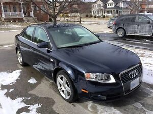 2007 Audi A4 2.0T (AWD) Quattro: MINT CERTIFIED + E TESTED