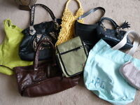 Basement Clearout - Purses - $5 each, 2 for $8 - All for $25