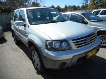 2006 Ford Escape ZB XLS Silver 4 Speed Automatic Wagon Edgeworth Lake Macquarie Area Preview